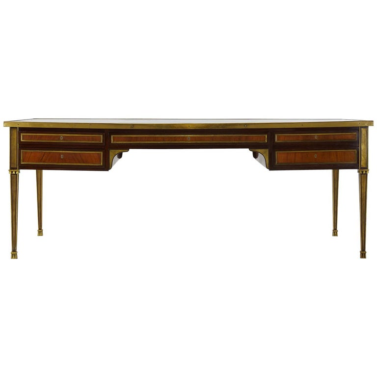 Excellent Quality Large 1960s French Desk For Sale