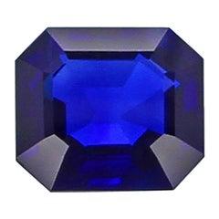 Exceptional 11 Carat Natural No Heat Kashmir Sapphire