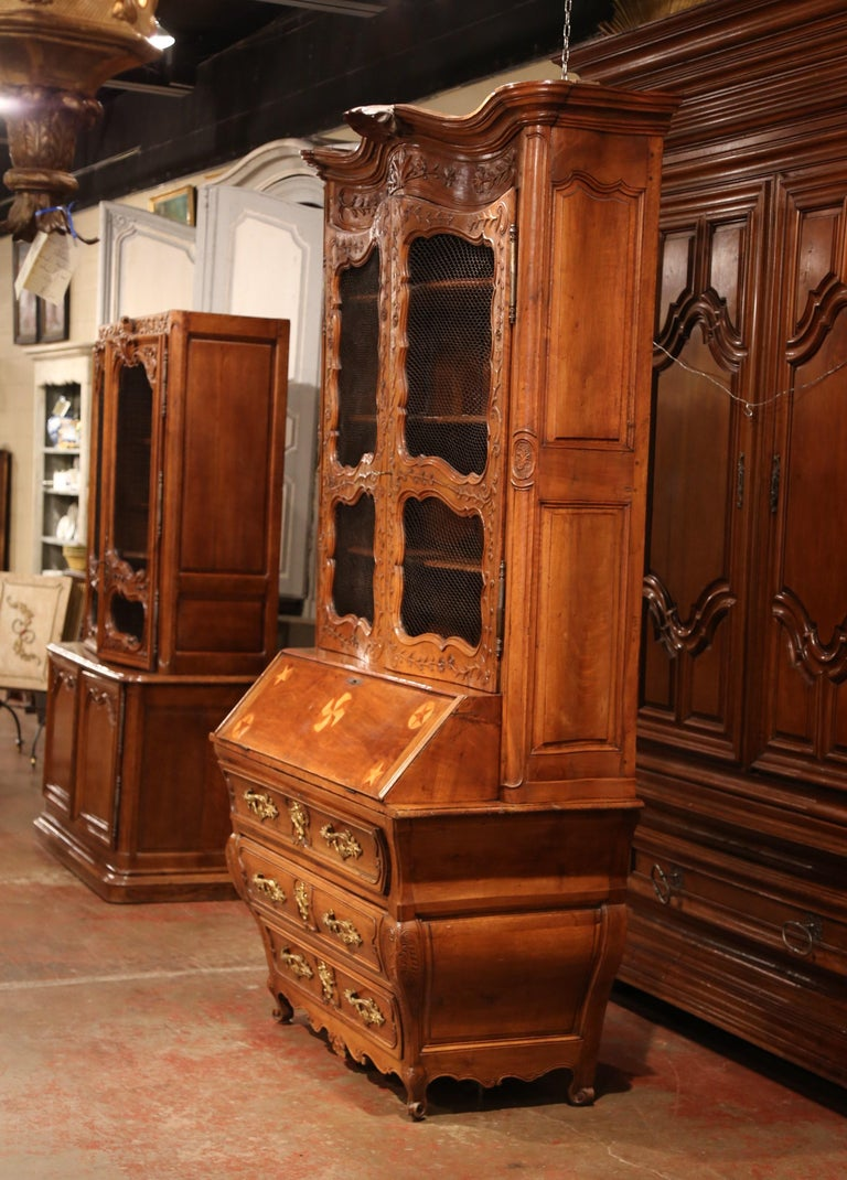 Crafted in Bordeaux, France, circa 1760, the antique