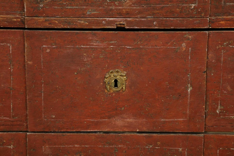 Exceptional 18th Century Gustavian Commode, Origin Stockholm, Sweden, circa 1780 For Sale 3