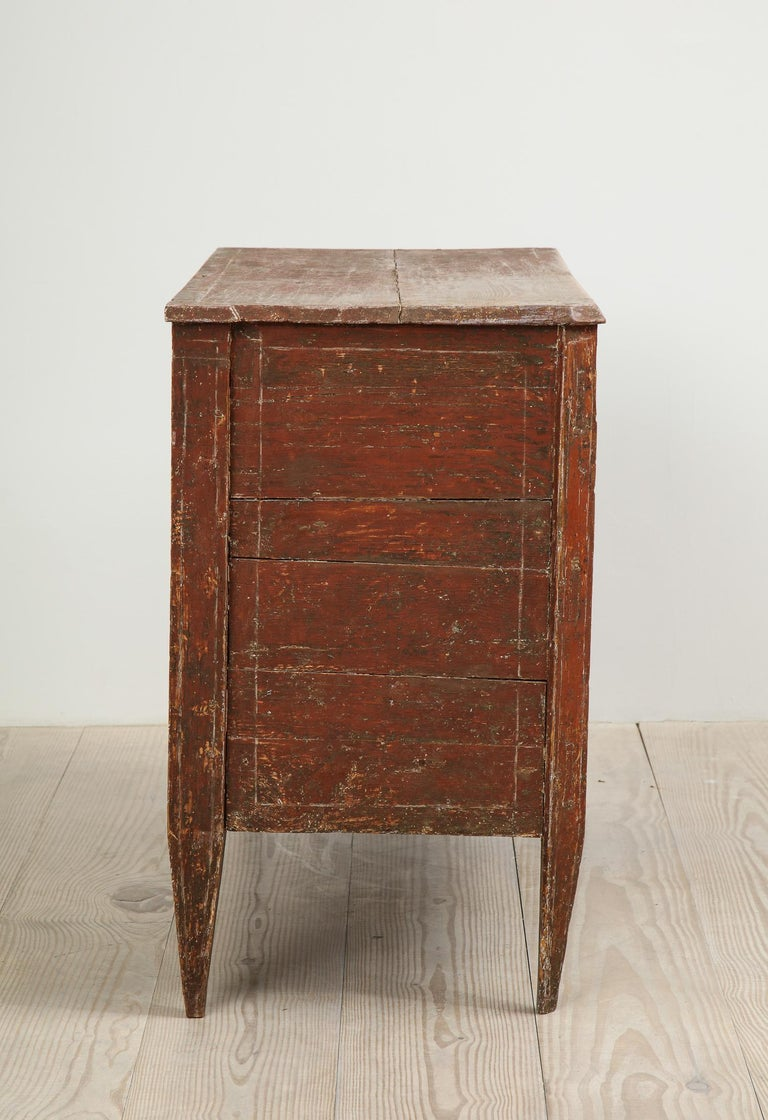 Exceptional 18th Century Gustavian Commode, Origin Stockholm, Sweden, circa 1780 For Sale 5