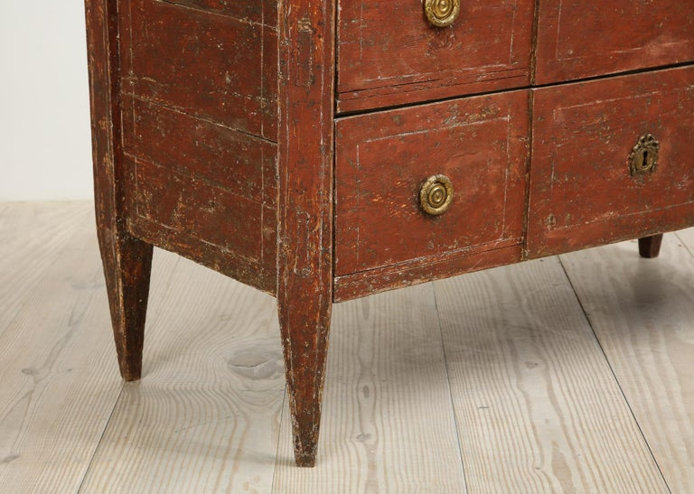 Exceptional 18th Century Gustavian Commode, Origin Stockholm, Sweden, circa 1780 For Sale 6