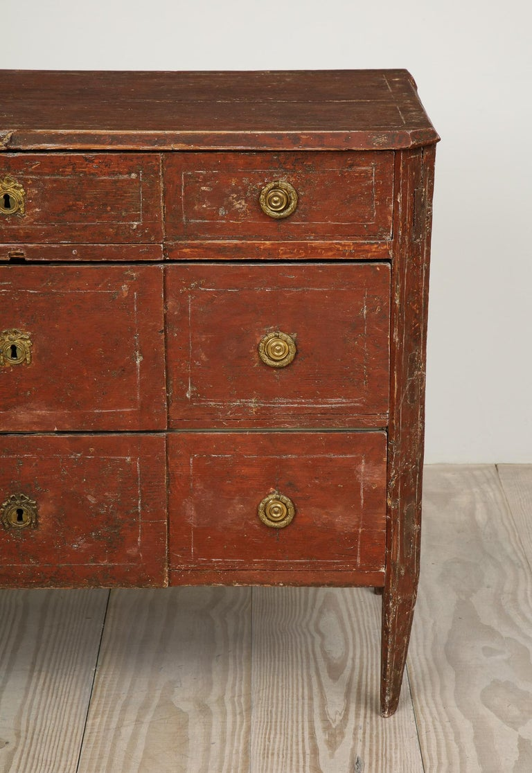 18th Century and Earlier Exceptional 18th Century Gustavian Commode, Origin Stockholm, Sweden, circa 1780 For Sale