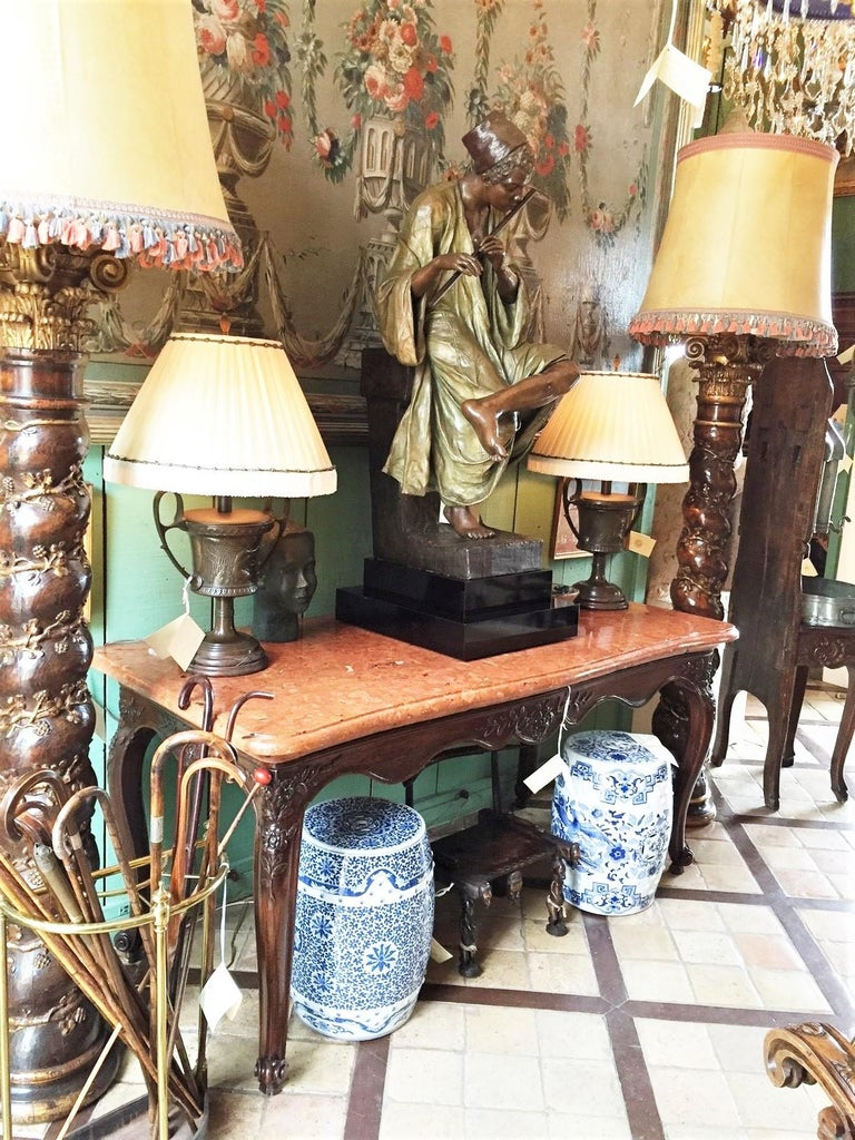 French Exceptional 18th Century Louis XV Console Table