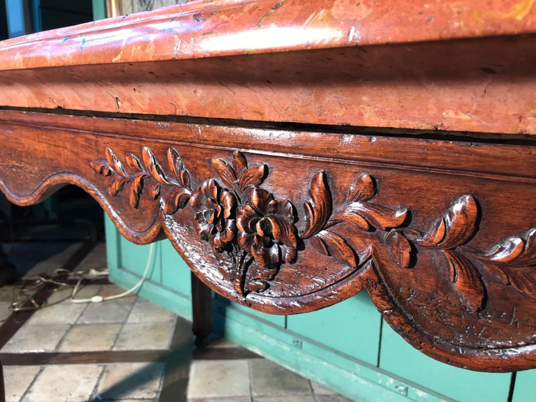 Exceptional 18th Century Louis XV Console Table