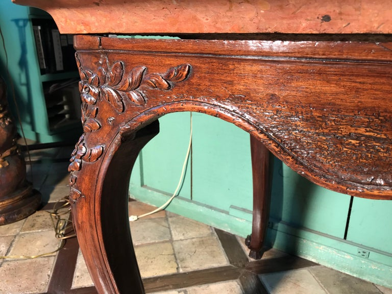 18th Century and Earlier Exceptional 18th Century Louis XV Console Table