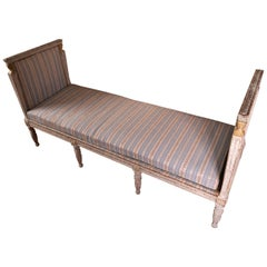 Exceptional 18th Century Swedish Daybed