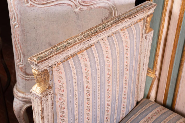 Gustavian Exceptional 18th Century Swedish Daybed For Sale