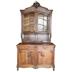 Exceptional 19th Century French Walnut Buffet