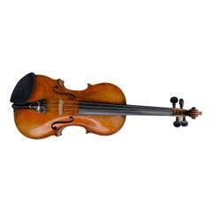 Exceptional 19th Century Violin by Enrico Ceruti, Cremona 1875