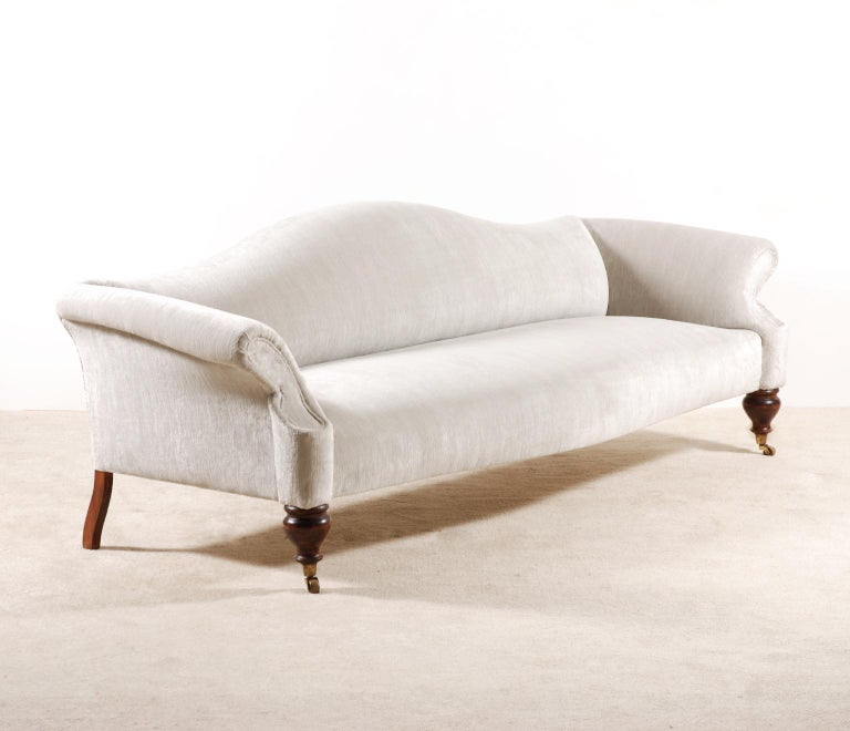 Exceptional 4-Seat French Sofa from the 1950s