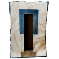 Exceptional Abstract Ceramic Wall Panel by Jacqueline Paul Dauphin, circa 1980