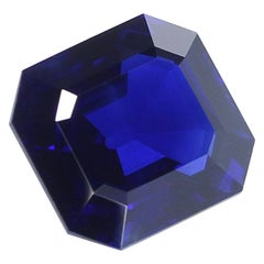 Exceptional and Rare 11 Carat Natural No Heat Kashmir Sapphire