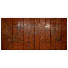 Exceptional and Rare 17th-18th Century Twelve-Panel Chinese Coromandel Screen