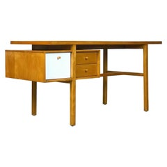 Exceptional Architectural Desk by Milo Baughman for Murray Furniture, 1953