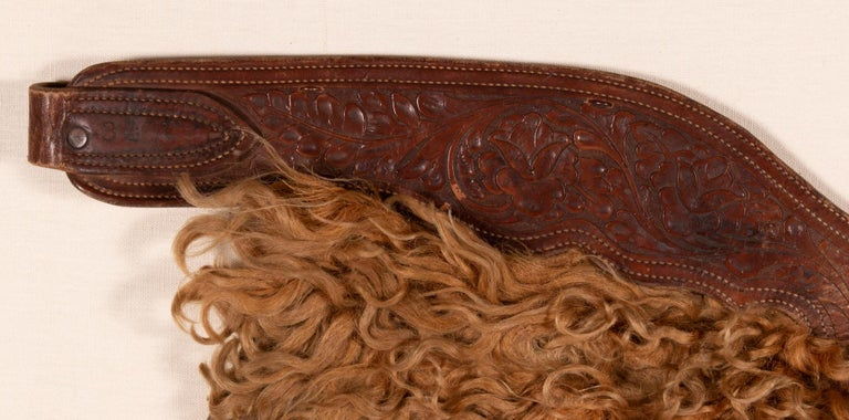 19th Century Exceptional, Blonde Wooly Angora Chaps, ca 1880-1920 For Sale