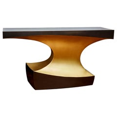 Exceptional Brass Console