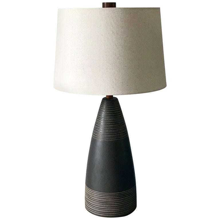 Exceptional Ceramic Table Lamp by Jane and Gordon Martz For Sale