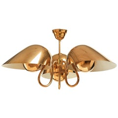 Exceptional Chandelier by Carl-Axel Acking, Sweden, 1940s