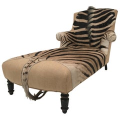 Exceptional Day Bed, Zebra Skin