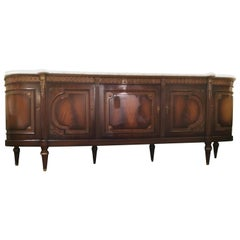 Exceptional French Louis XVI Style Sideboard/Buffet Signed JP Ehalt 20th Century