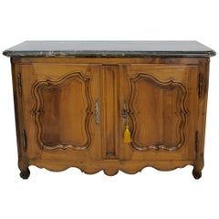Exceptional French Marble-Top Buffet