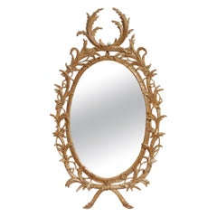 Exceptional George III Oval Mirror