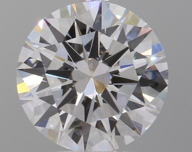 Exceptional GIA Certified 6.02 Carat VVS/SI1 Clarity H Color Diamond Studs
