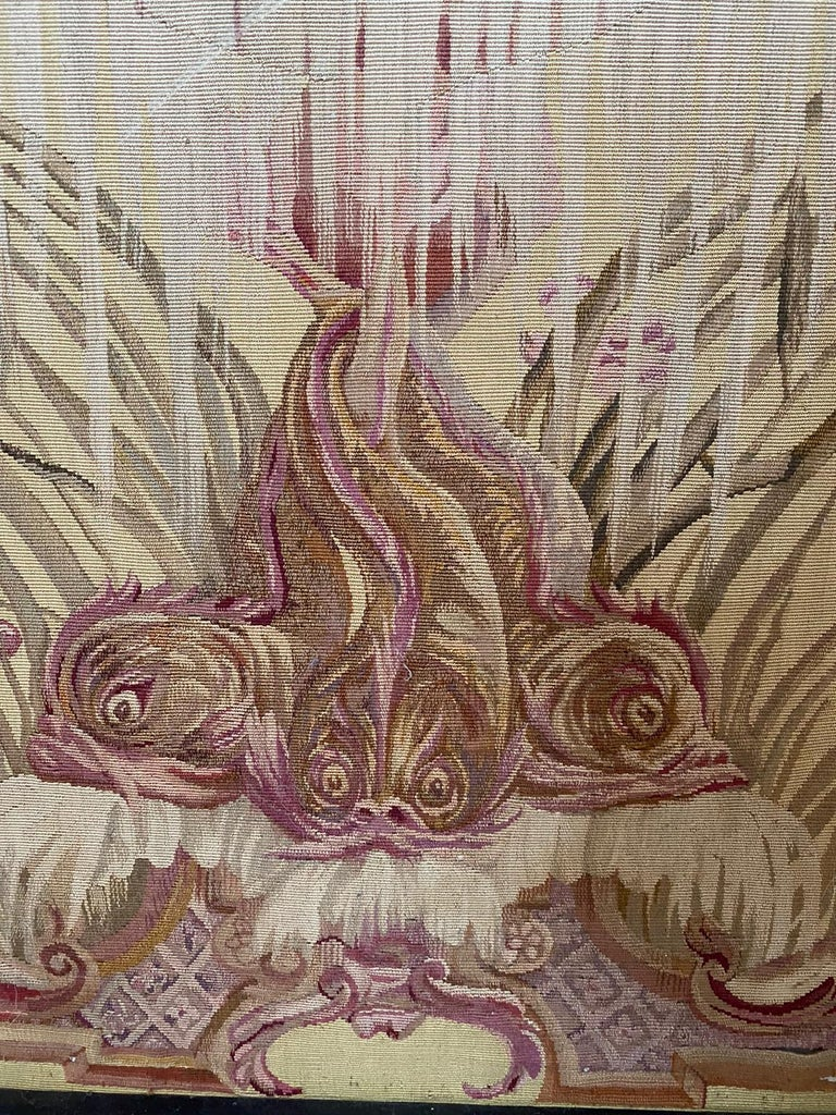 Exceptional Group of 5 Aubusson Tapestries, Perfect Condition For Sale 3