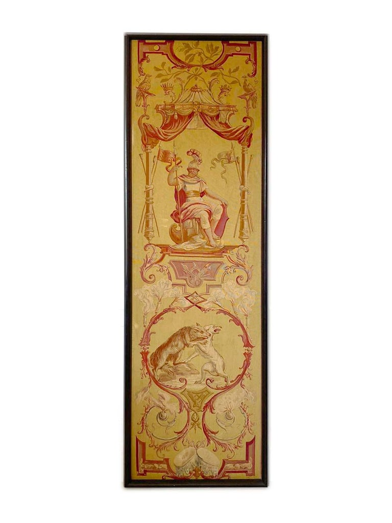 19th Century Exceptional Group of 5 Aubusson Tapestries, Perfect Condition For Sale