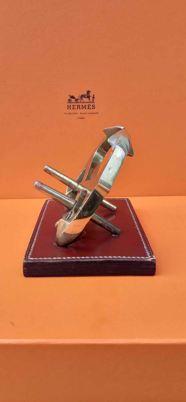 Red Exceptional Hermès Decorative Marine Anchor Navy Item Chaine d'Ancre For Sale