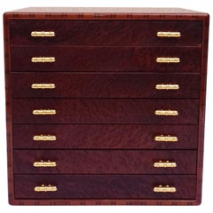 Exceptional Hermès Drawer to store scarves or Jewelry In Wood RARE