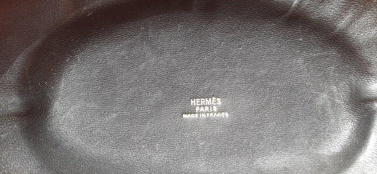 Exceptional Hermès Evening Clutch Bag Minaudière Doblis and Golden Hdw RARE For Sale 11