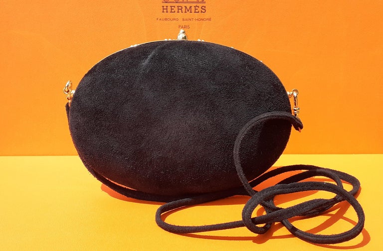 Exceptional Hermès Evening Clutch Bag Minaudière Doblis and Golden Hdw RARE In Good Condition For Sale In ., FR