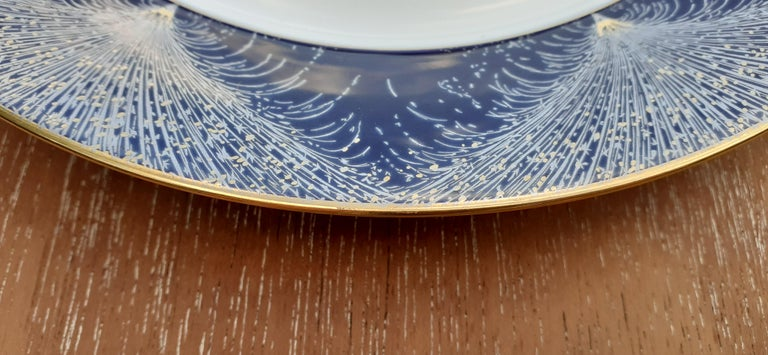 Exceptional Hermès Plate Dish Feux d'Artifice 150th Anniversary Only 200 Pieces For Sale 2