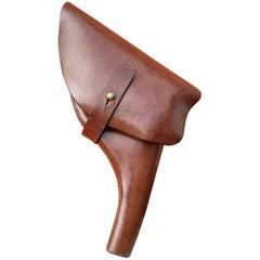 Exceptional Hermès Revolver Holster in Leather High Quality RARE