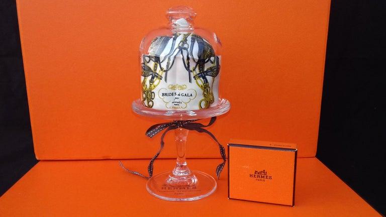 Exceptional Hermès Smallest Scarf Ever Brides de Gala Bleuette Doll 20 cm  For Sale 3