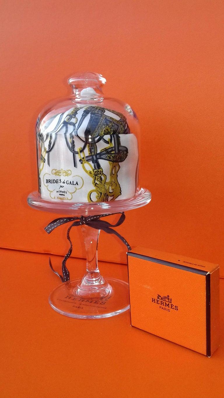 Exceptional Hermès Smallest Scarf Ever Brides de Gala Bleuette Doll 20 cm  For Sale 4