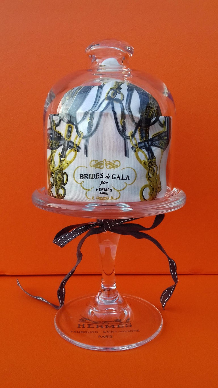Exceptional Hermès Smallest Scarf Ever Brides de Gala Bleuette Doll 20 cm  For Sale 5