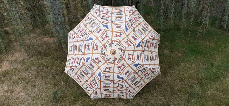 Rare Authentic Hermès Umbrella  Pattern:
