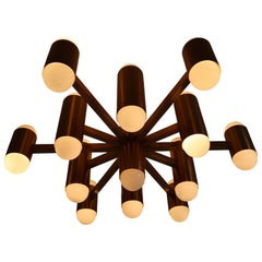Exceptional Impressing Size Brass Chandelier Consist of Twenty-Six Lights