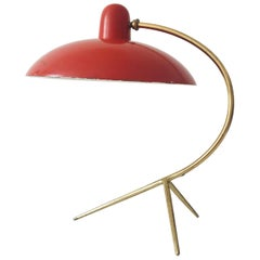 Exceptional Italian Mid-Century Modern Table Lamp, 1950s