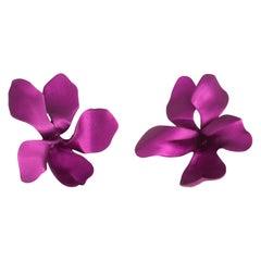 Exceptional JAR Violet Earrings