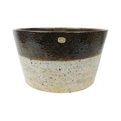 Exceptional Large Ceramic Bowl Rörstrand Sylvia Leuchovius, 1970s