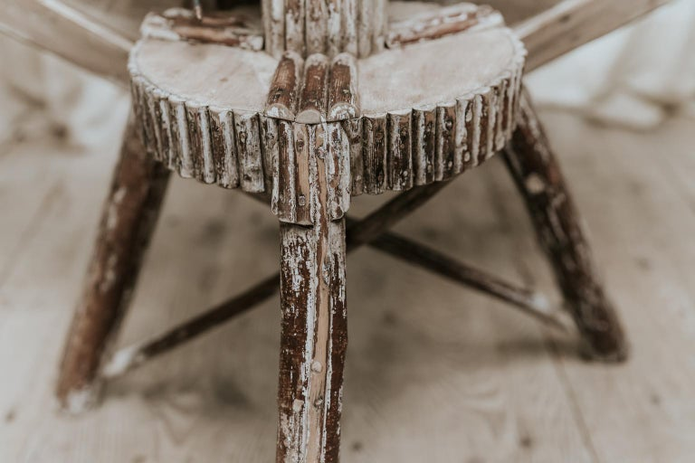 Exceptional Pair of 16-Sided Wooden Tables For Sale 9