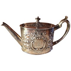 Exceptional Quality George III Sterling Silver Teapot