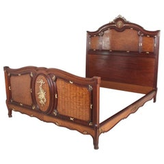 Exceptional Quality Louis XV-Style Bed