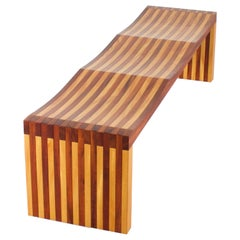 Exceptional 'Ressaquinha' Bench by Mauricio Azeredo, Brazil