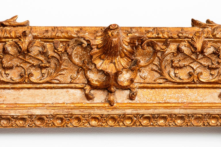 Exceptional Royal Quality French Regence Frame, Mirror, France, 1720s For Sale 6