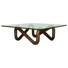 Exceptional Scarce Sculptural Coffee Table by Harvey Probber